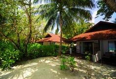 härligt hus för strand Royaltyfri Foto