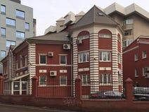 Härligt hus i Moskva Royaltyfri Bild