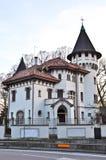 härligt hus treviso Royaltyfri Fotografi