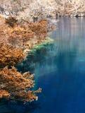 härligt jiuzhaidalvatten royaltyfria foton