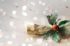 Härligt julband Royaltyfria Bilder