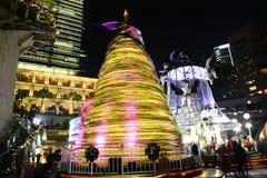 Härligt julträd Fotografering för Bildbyråer