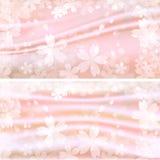 Härligt körsbärsrött träd vektor illustrationer