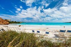 härligt karibiskt för strand Royaltyfria Foton