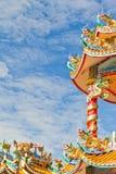 härligt kinesiskt relikskrintempel Royaltyfria Foton