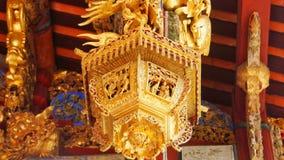 Härligt kinesiskt traditionellt klanhus och tempeltak i Penang royaltyfri fotografi