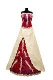 härligt klänningbröllop Royaltyfri Fotografi