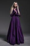 härligt klänningkvinnabarn royaltyfria foton
