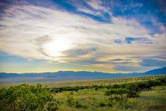 Härligt konstnärligt landskap i sydvästliga Colorado Arkivbilder