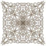 Symmetrisk tappning mönstrar Arkivfoto