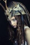 Härligt kvinnligt modellerar Royaltyfri Bild
