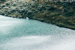 härligt lakeberg Arkivbild