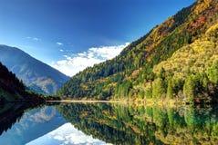 Härligt landskap arkivfoto