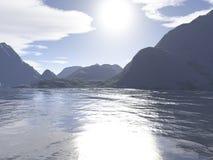 Härligt landskap royaltyfri foto