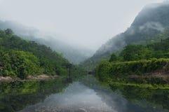 Härligt landskap Arkivbild