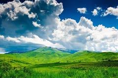 Härligt landskap av Armenien Arkivbilder