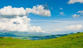 Härligt landskap av Armenien Arkivfoto