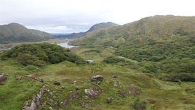 Härligt landskap av damsikten i Killarney stock video