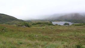 Härligt landskap av damsikten i Killarney lager videofilmer