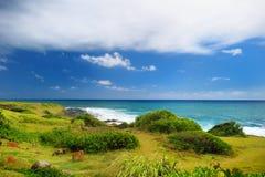 Härligt landskap av den Kauai ön Royaltyfri Fotografi