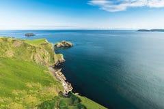Härligt landskap av klippor i Irland, august 2016 Royaltyfri Bild