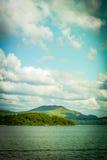 Härligt landskap av Loch Lomond Arkivfoton