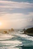 Härligt landskap av Nya Zeeland Fotografering för Bildbyråer