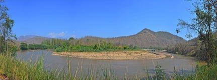Härligt landskap av Thailand Royaltyfri Foto