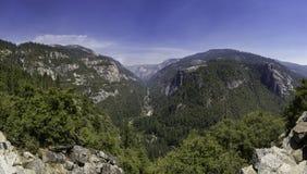 Härligt landskap av Yosemite Arkivbilder