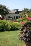 härligt landskap för hus Royaltyfria Foton