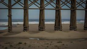Härligt landskap Fort Bragg Kalifornien Arkivbild