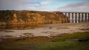 Härligt landskap Fort Bragg Kalifornien Royaltyfria Bilder
