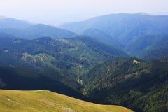 Härligt landskap från Transalpina Royaltyfri Foto