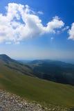 Härligt landskap från Transalpina Arkivbild