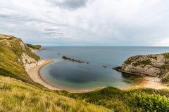 Härligt landskap i Dorset Arkivfoton