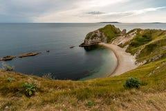 Härligt landskap i Dorset Arkivfoto