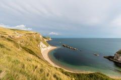 Härligt landskap i Dorset UK Arkivbilder