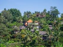 H?rligt landskap i indonesia arkivfoto