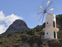Härligt landskap i Kreta Royaltyfri Bild