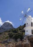 Härligt landskap i Kreta Royaltyfria Bilder
