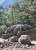 Härligt landskap i Kreta Royaltyfri Foto