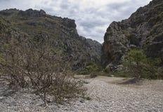 Härligt landskap i Majorca Royaltyfri Fotografi
