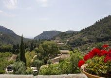 Härligt landskap i Majorca Arkivbild