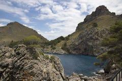 Härligt landskap i Majorca Royaltyfria Bilder