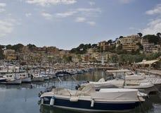Härligt landskap i Majorca Arkivbilder