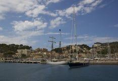 Härligt landskap i Majorca Arkivfoto