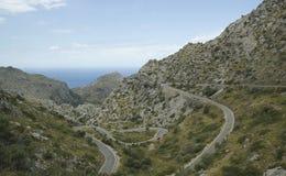 Härligt landskap i Majorca Fotografering för Bildbyråer