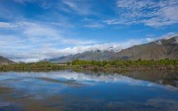 Härligt landskap i Tibet av Kina Royaltyfria Bilder
