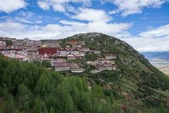 Härligt landskap i Tibet av Kina Royaltyfri Foto
