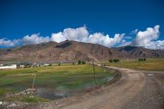 Härligt landskap i Tibet av Kina Royaltyfri Bild